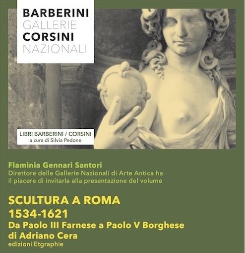 Scultura a Roma 1534-1621