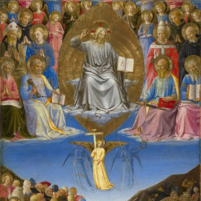 Triptych (Ascension, Last Judgment, Pentecost)