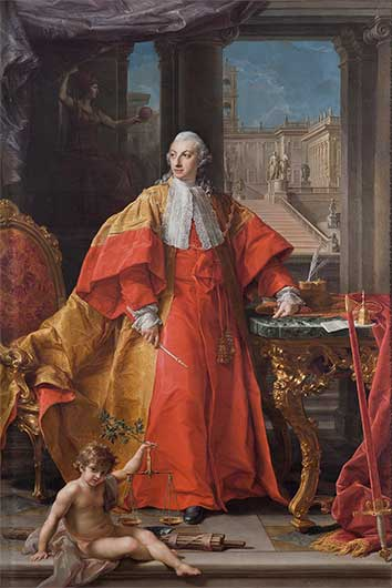 The painter and the great lord <br>Batoni, the Rezzonico family and occasional portraiture