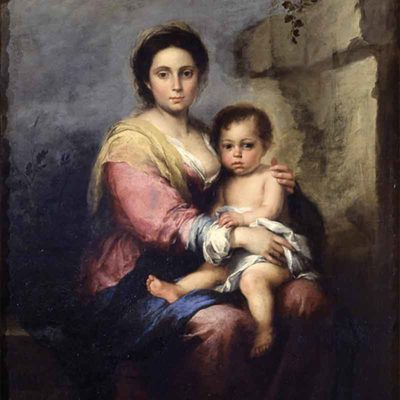 The nursing Madonna