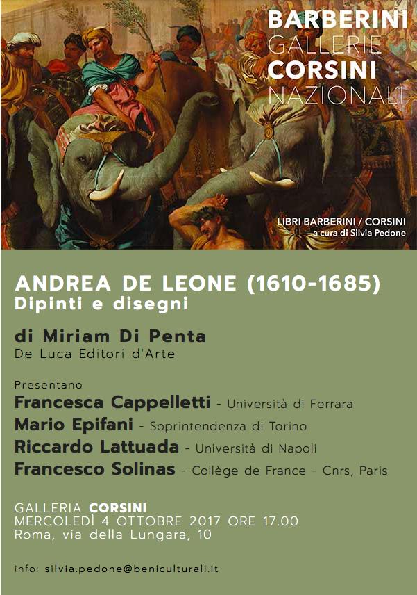 Andrea de Leone (Napoli 1610-1685). Dipinti e Disegni