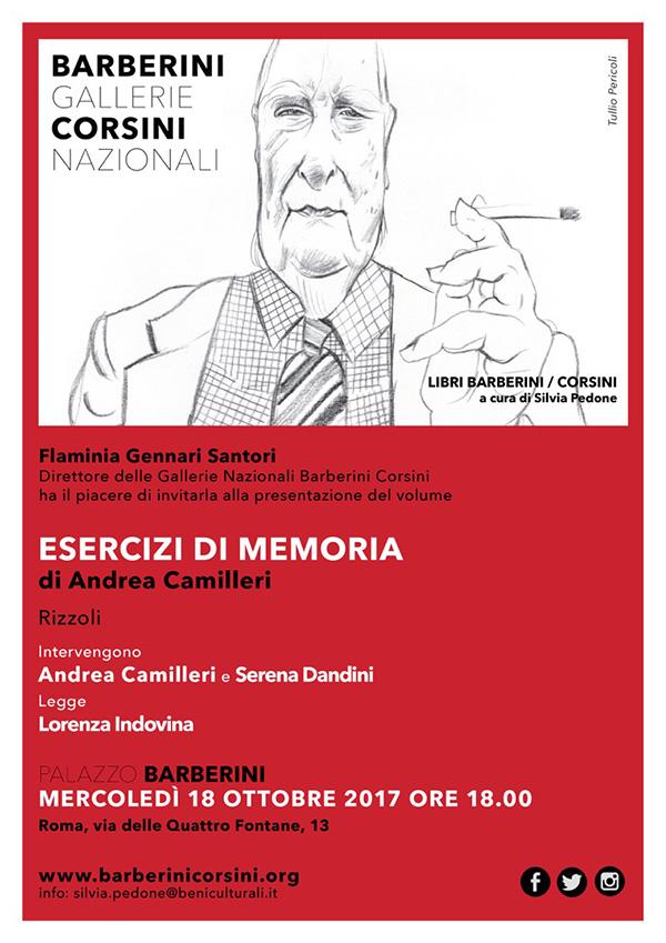 Andrea Camilleri – Esercizi di memoria