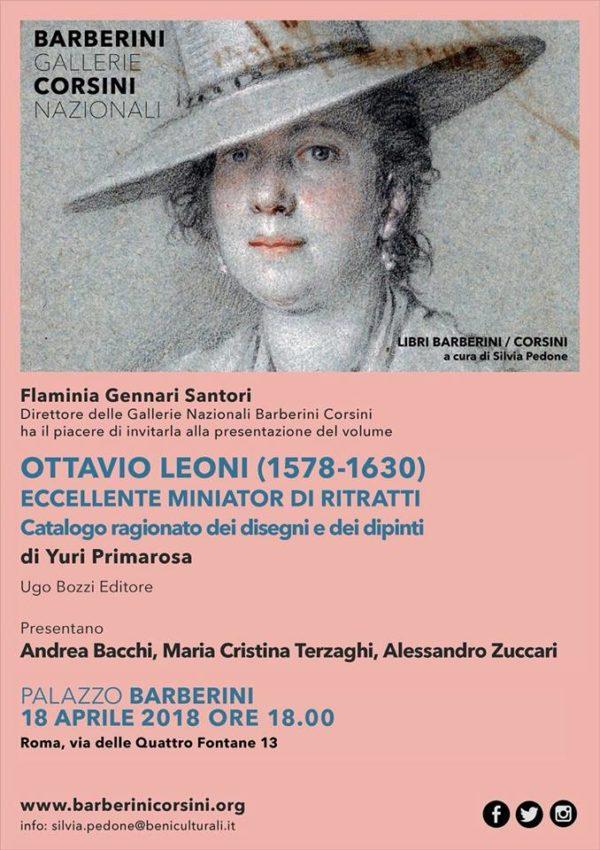 Ottavio Leoni (1578-1630) eccellente miniator di ritratti