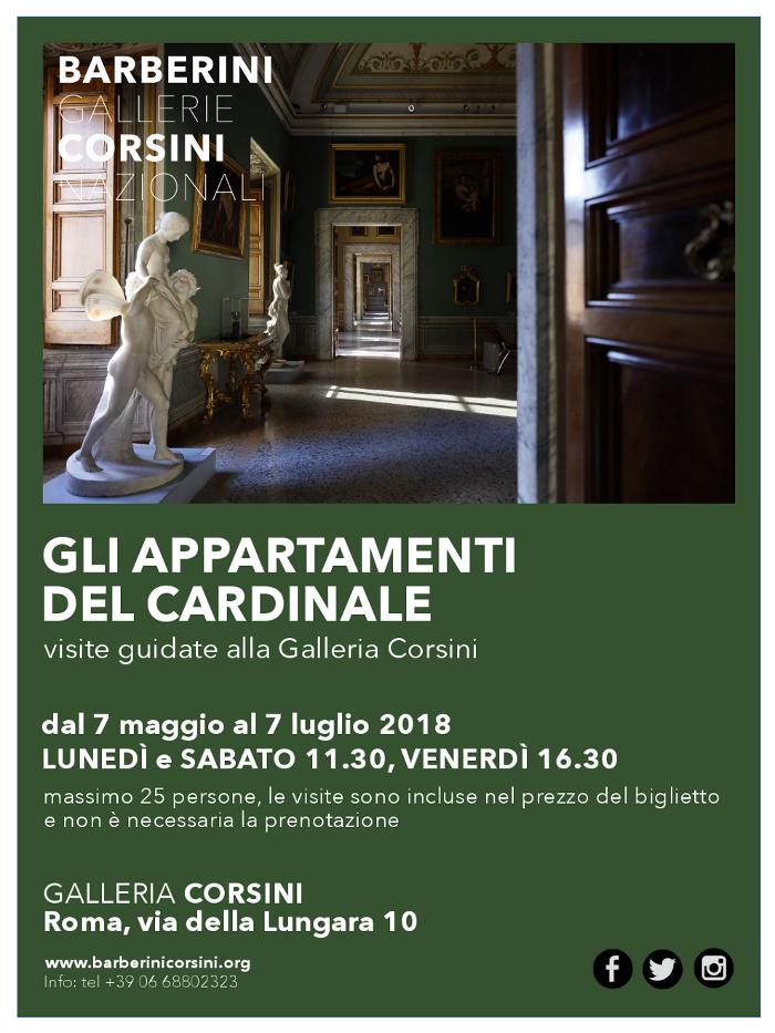 Gli appartamenti del Cardinale. Visite guidate alla Galleria Corsini