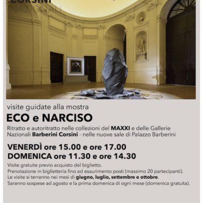 """Visite guidate gratuite alla mostra """"Eco e Narciso"""""""