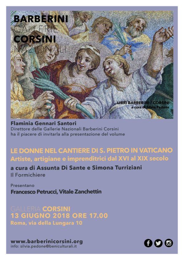 Le donne nel cantiere di San Pietro in Vaticano
