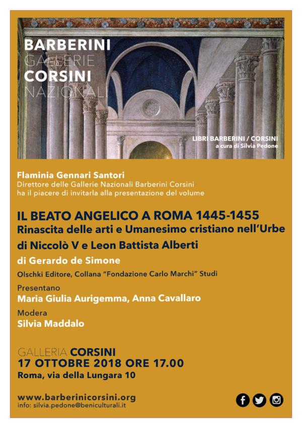 IL BEATO ANGELICO A ROMA 1445-1455. Rinascita delle arti e Umanesimo cristiano nell'Urbe di Niccolò V e Leon Battista Alberti