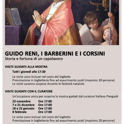 Visite guidate Guido Reni, i Barberini e i Corsini. Storia e fortuna di un capolavoro