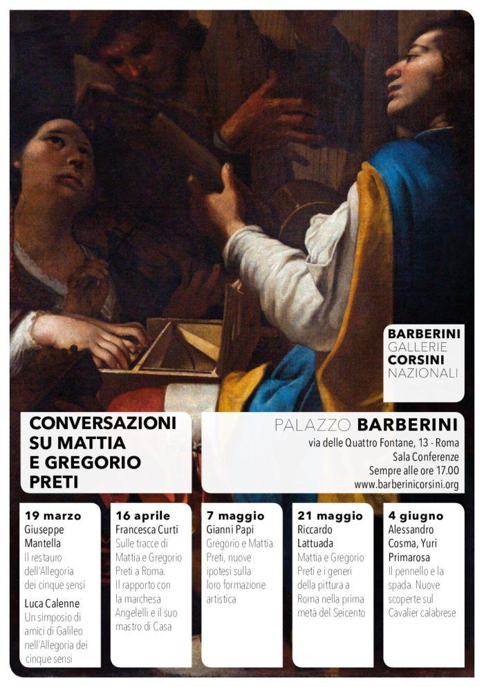 Conversazioni su Mattia e Gregorio Preti