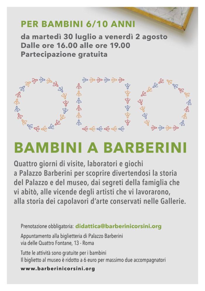Bambini a Barberini