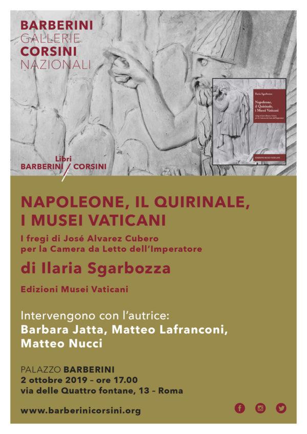 Napoleone, il Quirinale, i Musei Vaticani.  I fregi di José Álvarez Cubero per la Camera da Letto dell'Imperatore