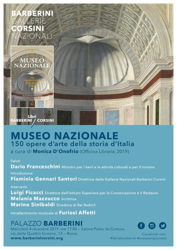 Museo nazionale. 150 opere d'arte della storia d'Italia