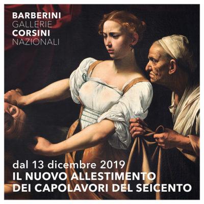 Ala nord di Palazzo Barberini: il nuovo allestimento dei capolavori del Seicento