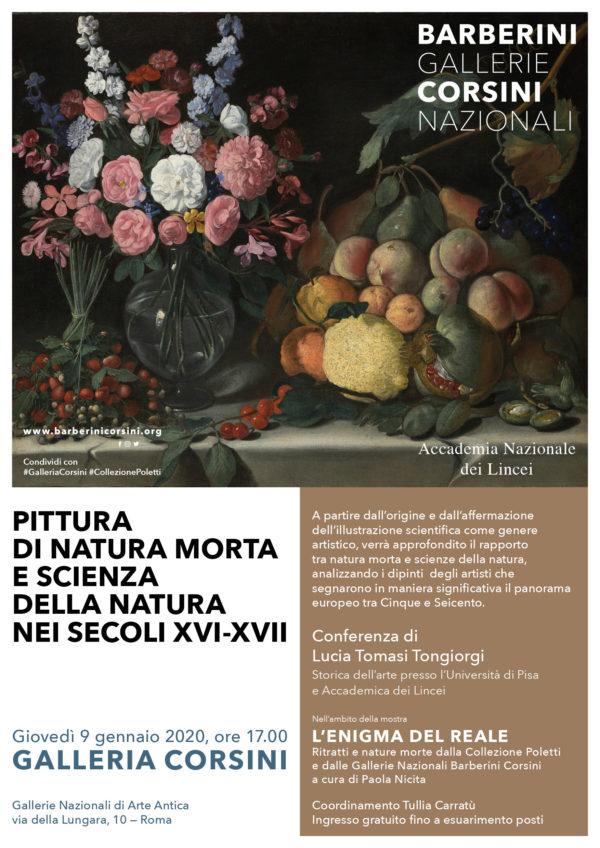 Pittura di natura morta e scienza della natura nei secoli XVI-XVII – Conferenza